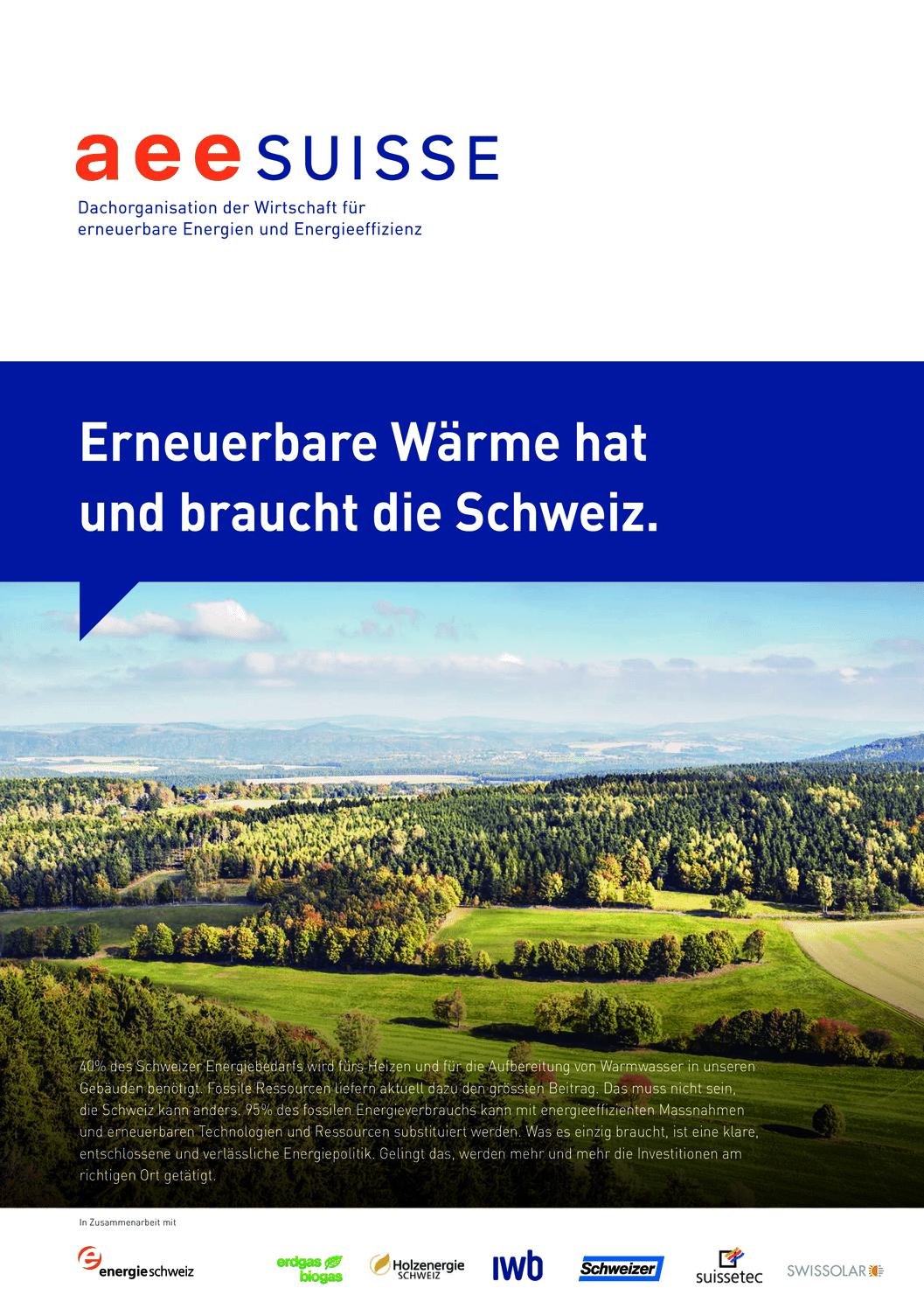 aee suisse Erneuerbare Waerme