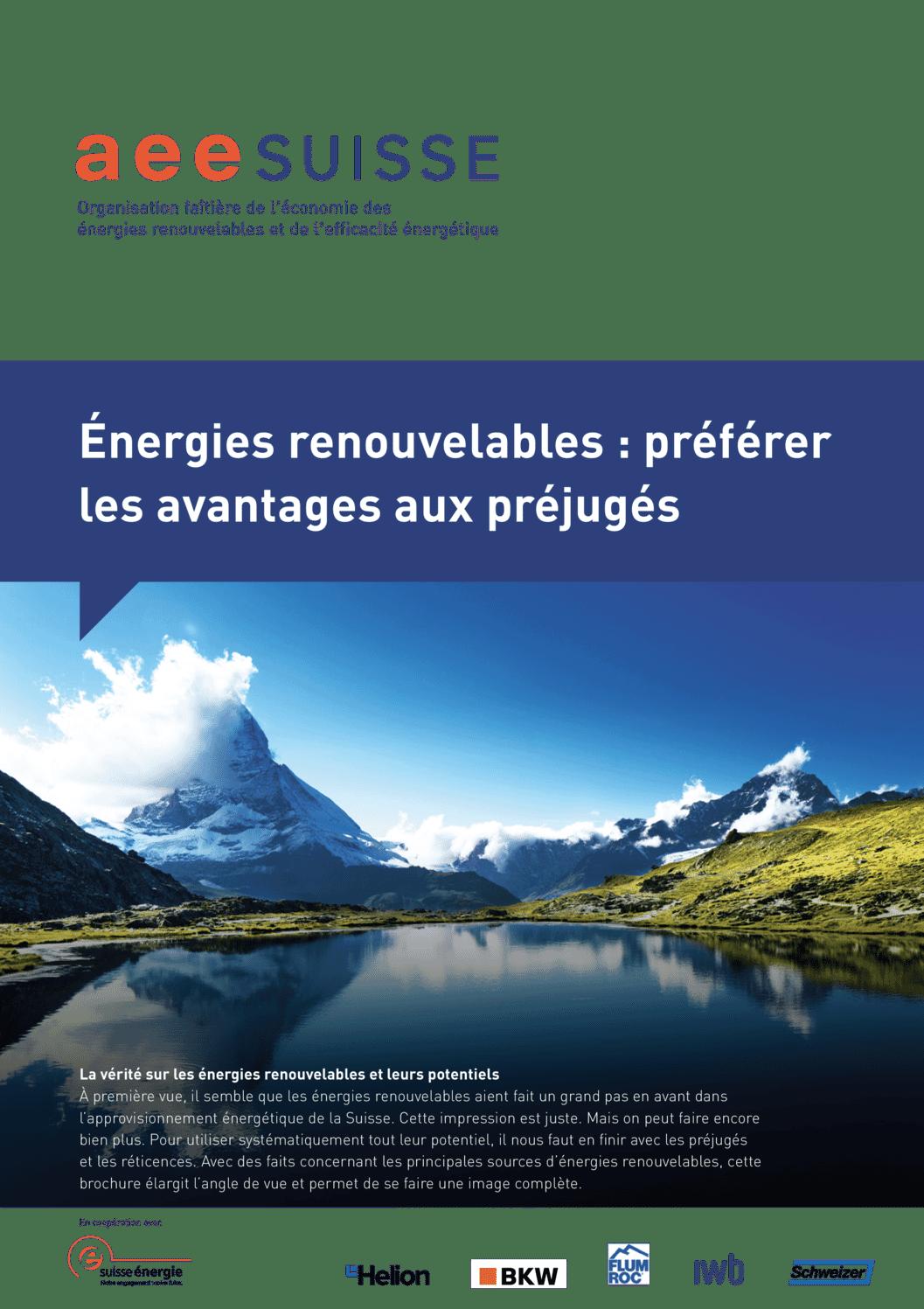 aee suisse Brochure Avantages aux préjugés